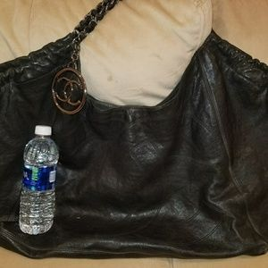 Authentic Distressed Caviar XL hobo